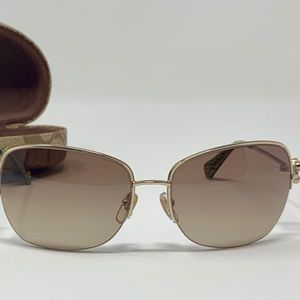 Coach Sunglasses S334 Kylie Butterfly Bronze